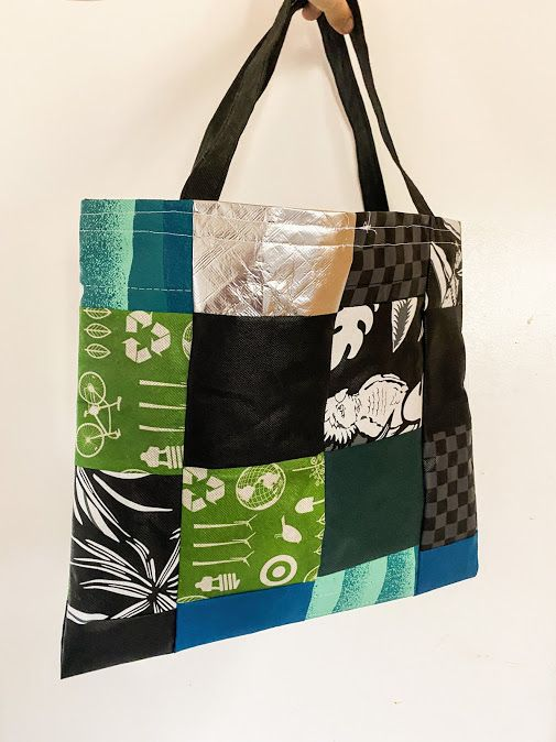 New Video Blog- Upcycling Reusable Grocery Store Bags!